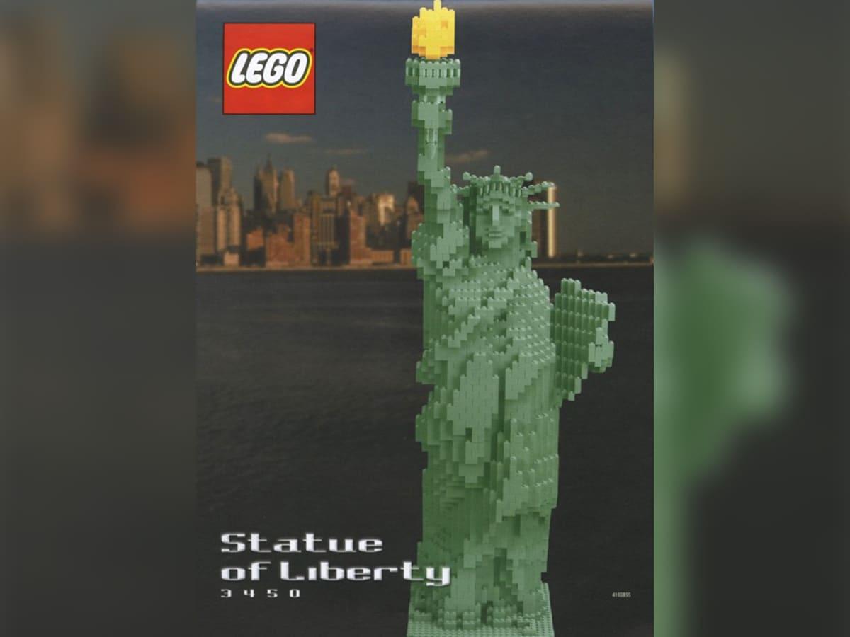 Il set LEGO Statua della Libertà. Crediti: The Lego Group.