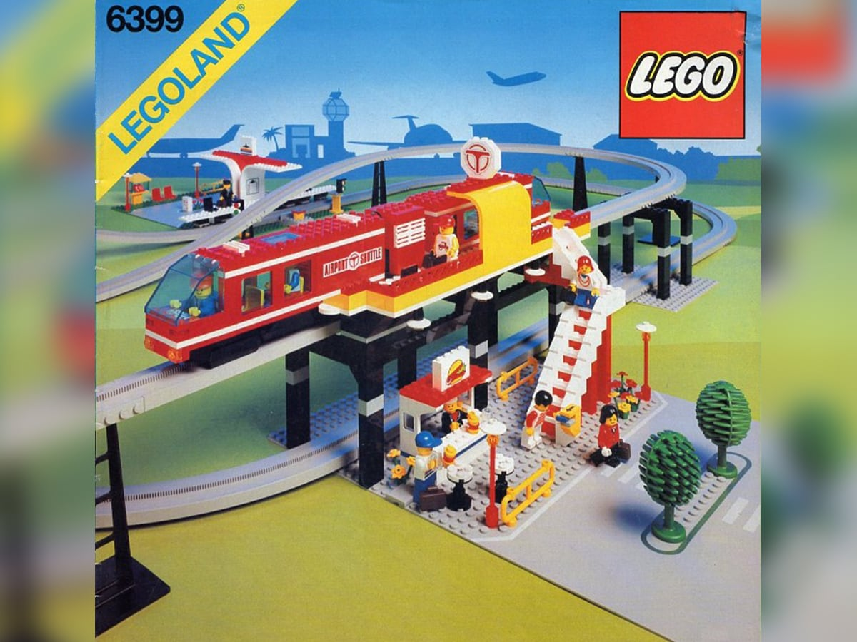 Il set Airport Shuttle. Crediti: The Lego Group.