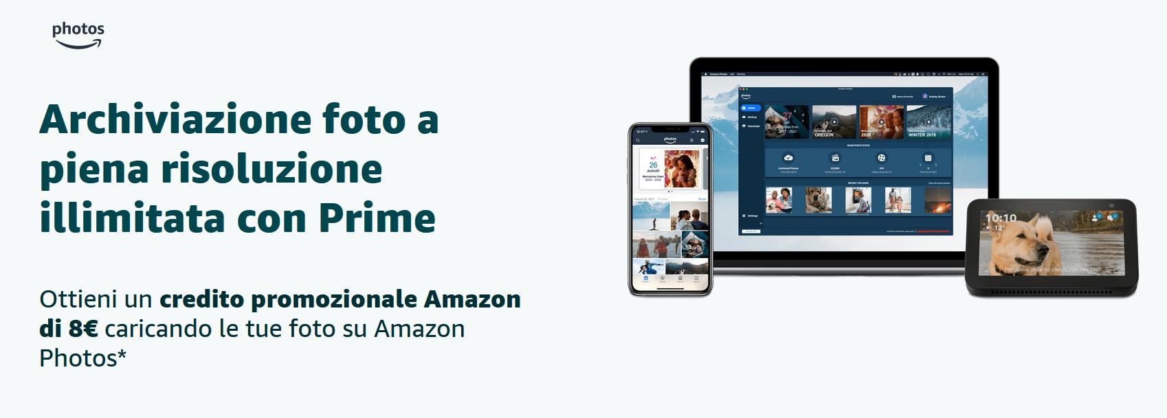 Buono Amazon da 8€ in regalo con Amazo …