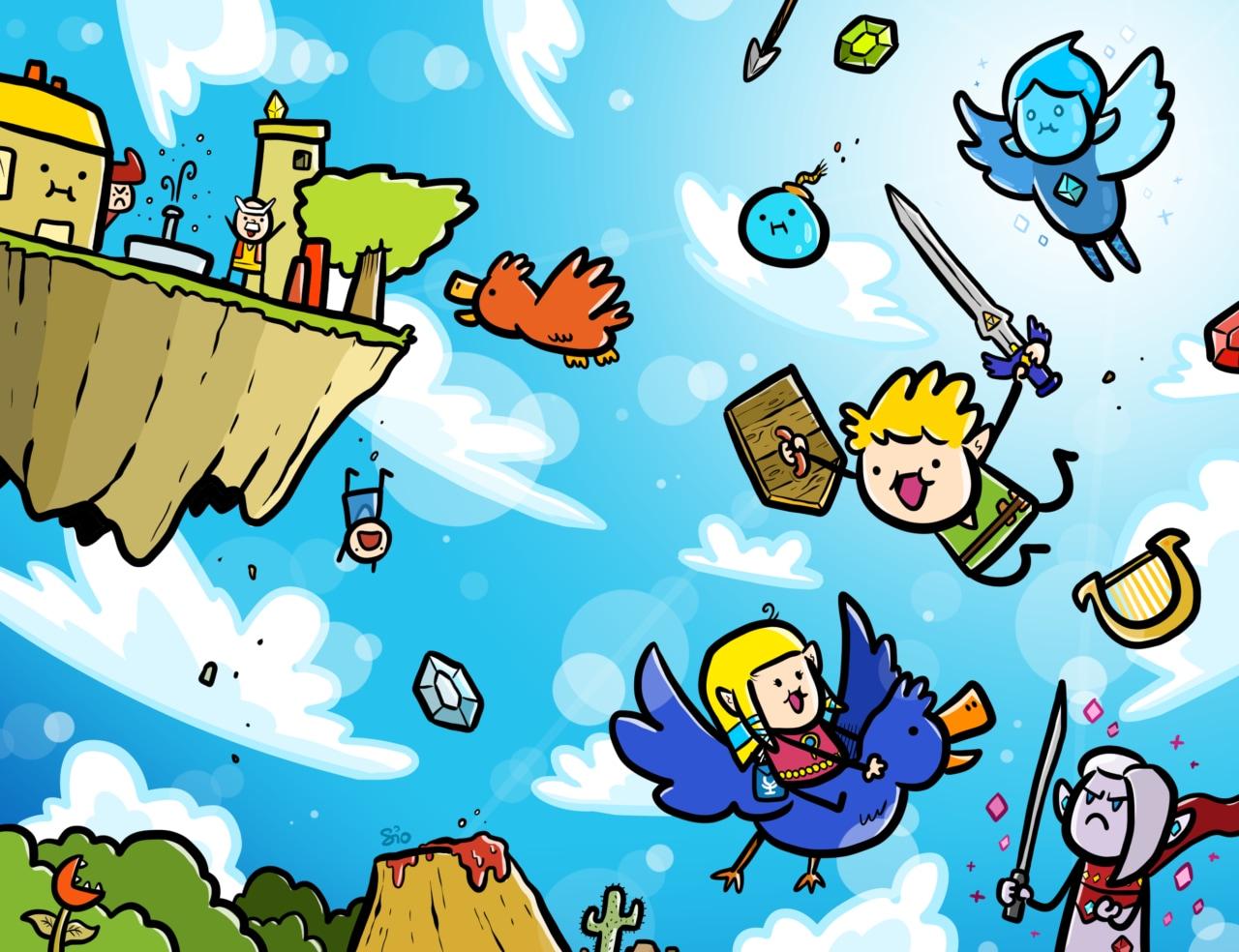 The Legend of Zelda: Skyward Sword HD arriva oggi su Switch con tre speciali e nuove copertine (video e foto)
