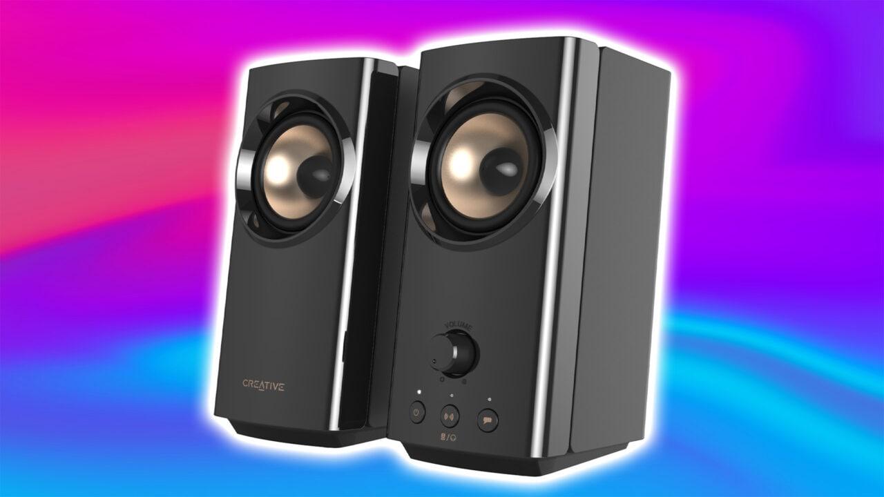 Creative T60 ufficiali: casse PC Hi-Fi 2.0 eleganti e compatte, fino a 60W