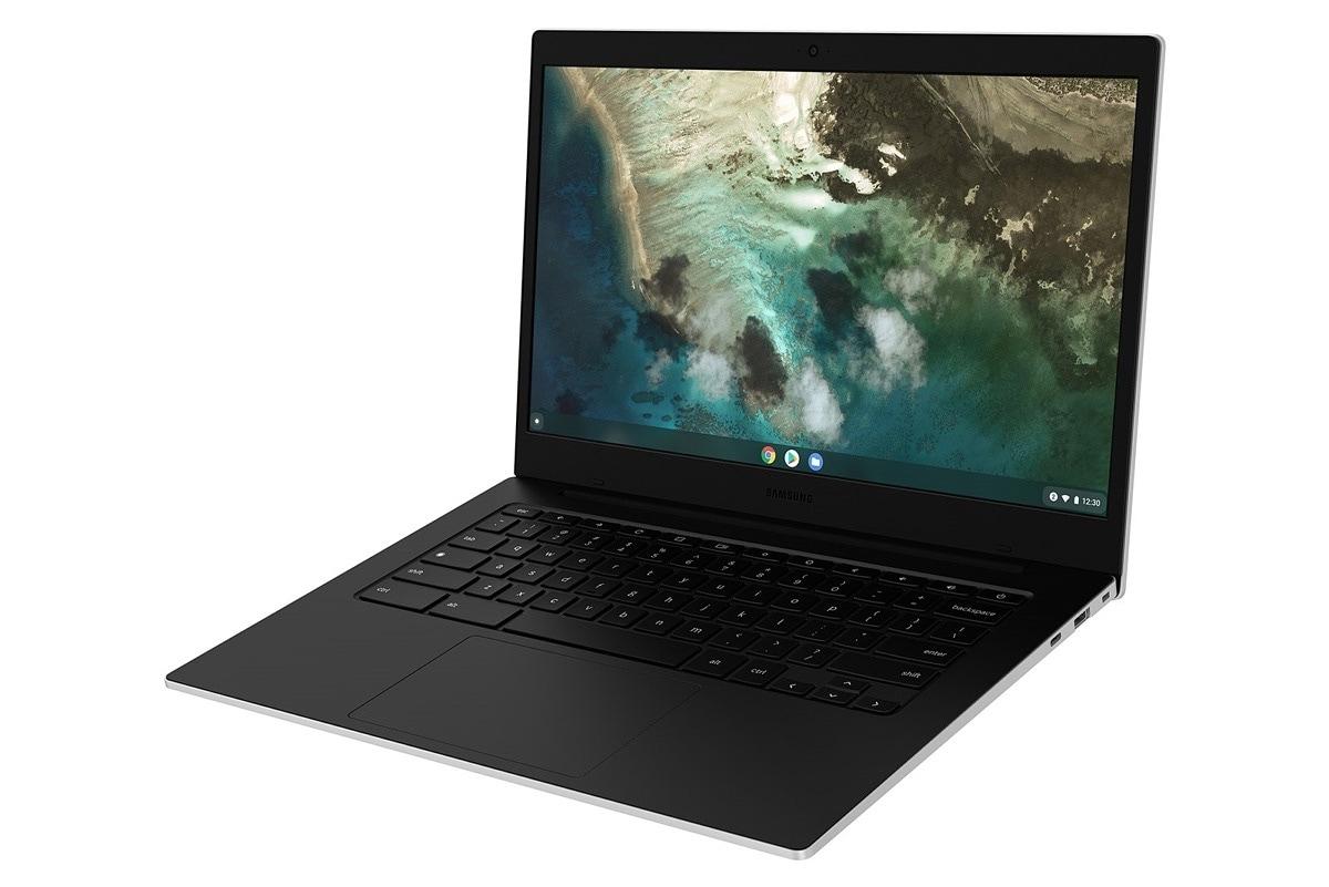 Samsung lancia il Galaxy Chromebook Go, l'economico laptop basato su Chrome OS (foto)