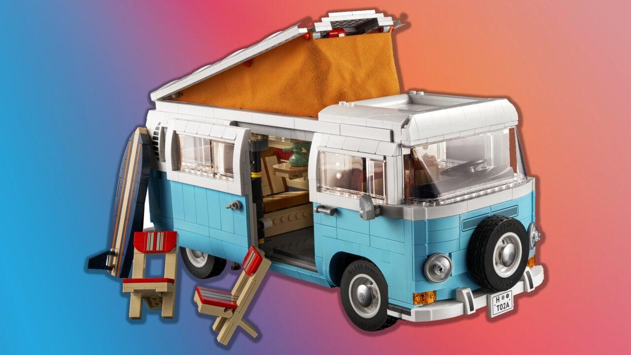 LEGO Volkswagen T2 Camper Van in arrivo a brevissimo: ben 2.200 pezzi! (foto)