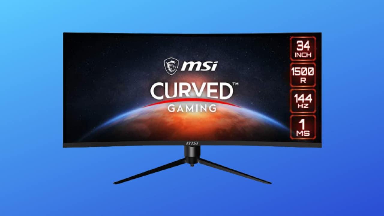 Monitor MSI Curvo al minimo storico su Amazon: QHD, HDR Ready e 144 Hz