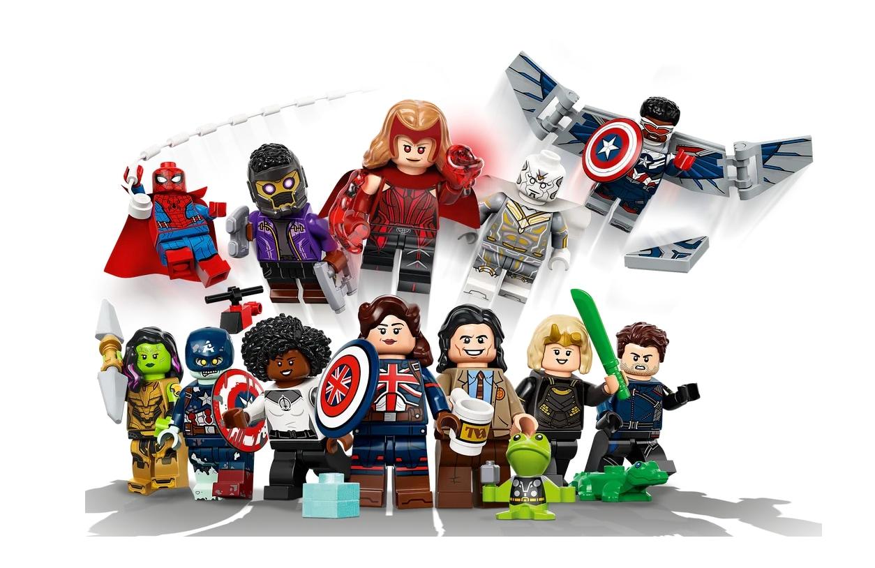 Preparatevi a collezionare i supereroi Marvel con i nuovi LEGO Minifigures Marvel Studios (foto)