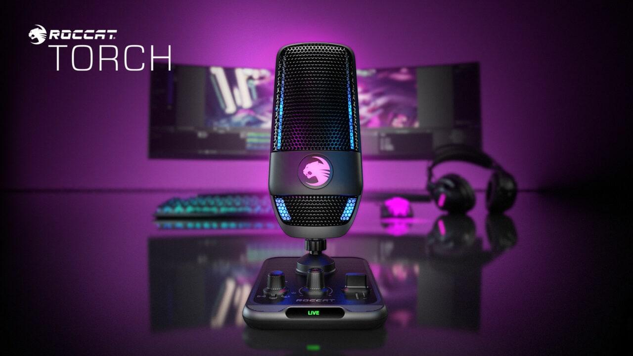 ROCCAT Torch ufficiale: il primo microfono USB professionale del noto marchio di accessori gaming