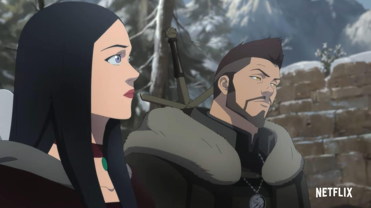 Il film di animazione di The Witcher arriva a fine agosto su Netflix, Vesemir è il protagonista