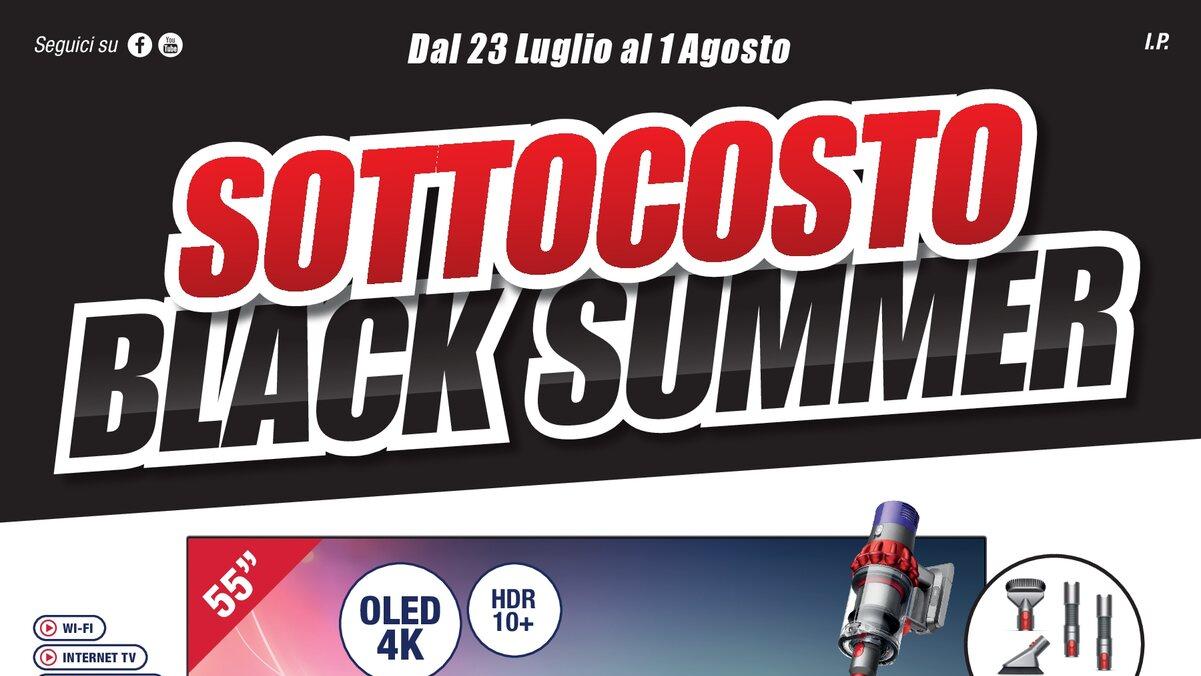 "Volantini Trony ""Sottocosto Black Summ …"