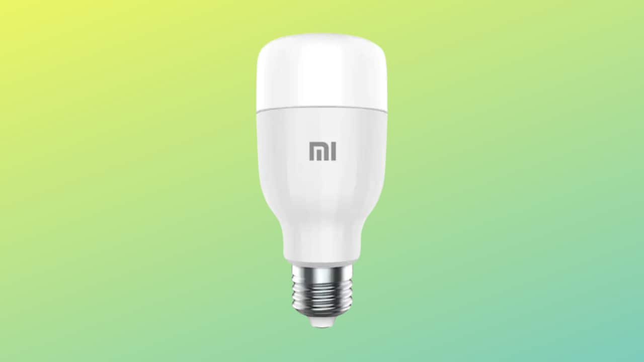 Xiaomi Mi LED Smart Bulb è la lampadina intelligente da comprare: in sconto a 9€