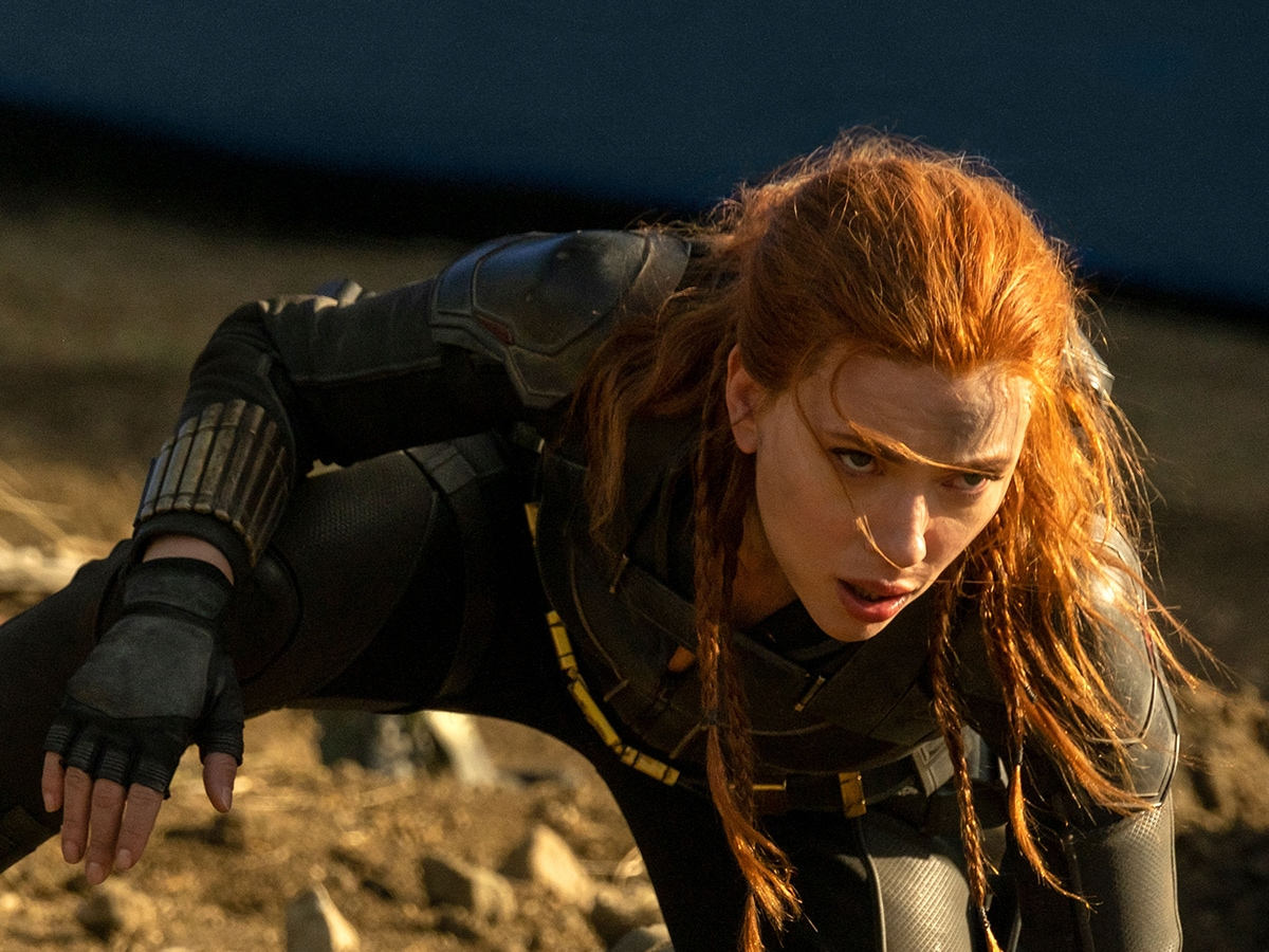 Scarlett Johansson interpreta Vedova Nera nel film Black Widow.