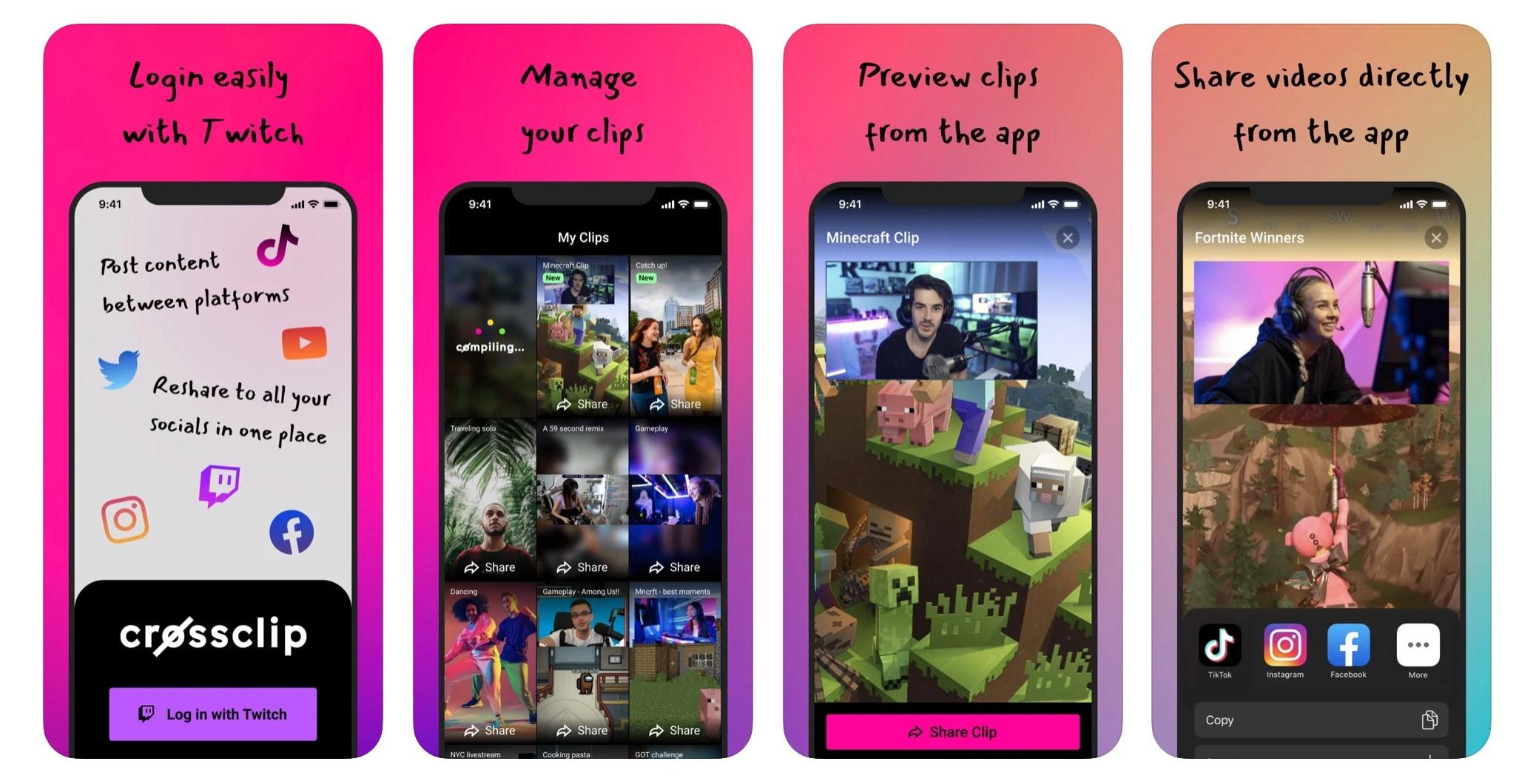 Crossclip, la nuova app per creare clip  …