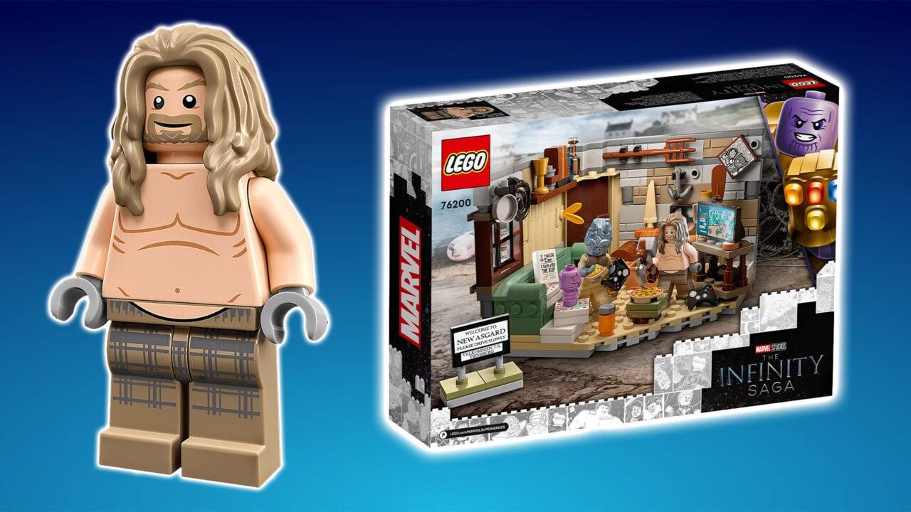Il set LEGO di Thor con la panza non può mancare nella vostra collezione (foto)