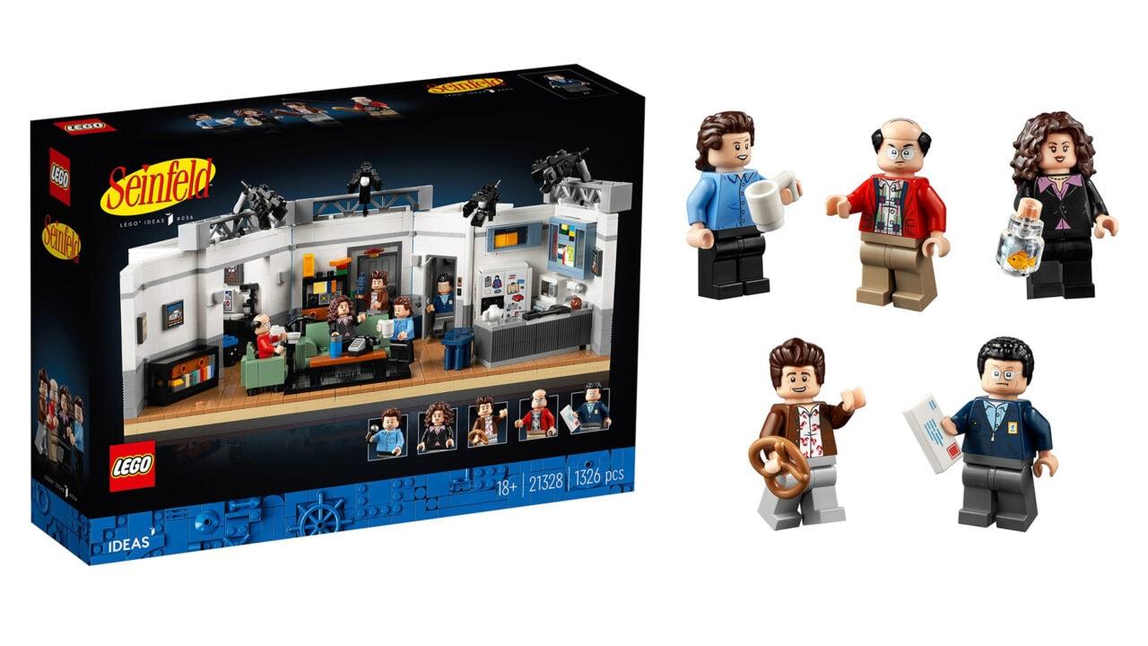LEGO Seinfeld ufficiale: il set dedicato alla celebre sitcom anni '90 in arrivo a brevissimo (foto)