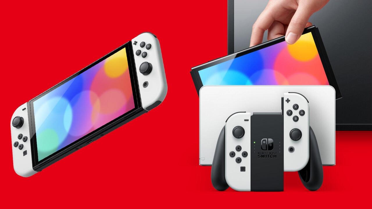 """Nintendo Switch OLED ufficiale: finalmente display OLED 7"""", disponibile da ottobre (foto e video)"""