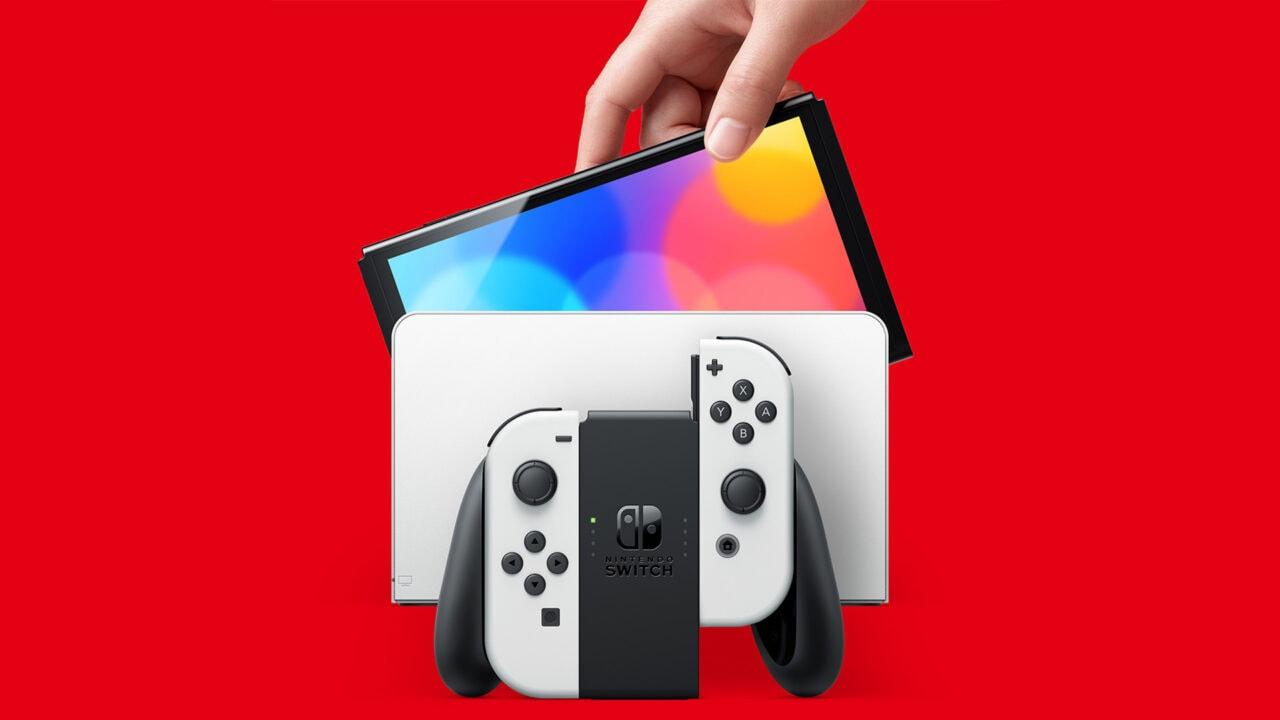 Nintendo Switch OLED disponibile da oggi anche su Amazon