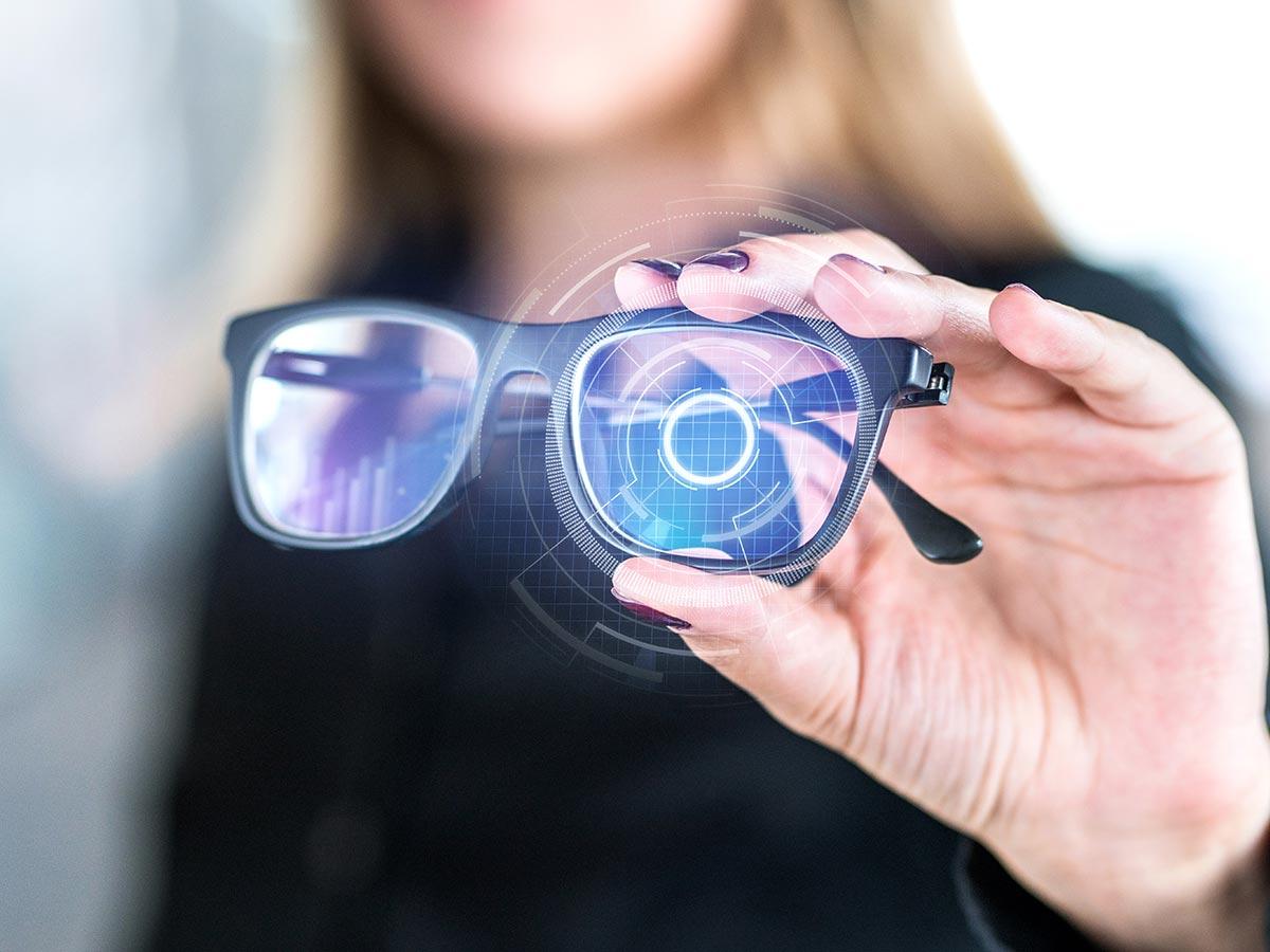 Occhiali in realtà aumentata progetti
