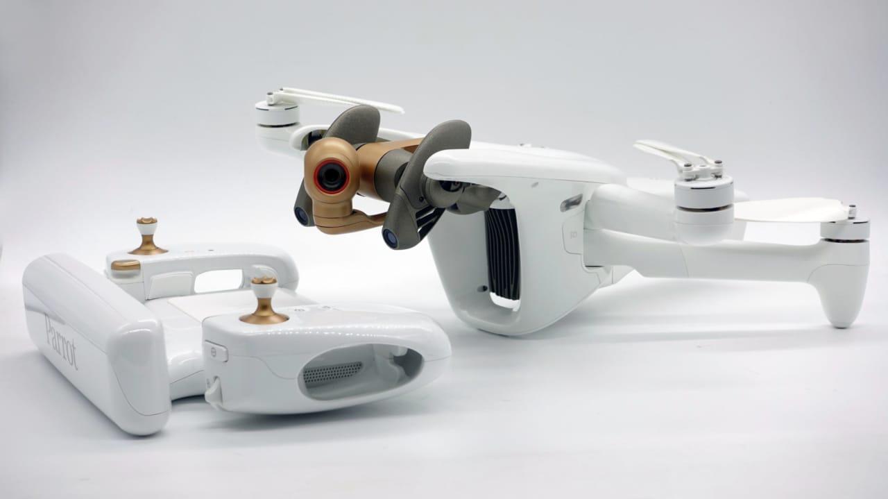 Parrot annuncia il nuovo mini-drone Anafi AI: connettività 4G e fotogrammetria autonoma (foto)