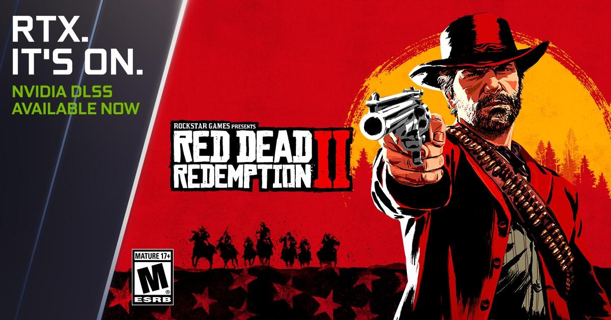 Red Dead Redemption 2 e Red Dead Online: aumento delle prestazioni grazie al supporto DLSS di NVIDIA (foto)