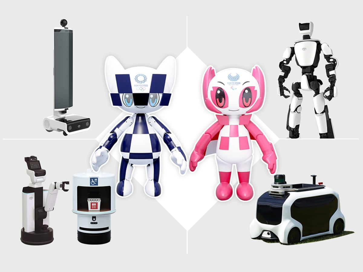 Tokyo 2021, robot forniranno assistenza a pubblico, atleti e staff