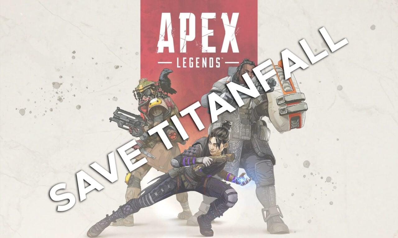 Save Titanfall: il messaggio diffuso su Apex Legends da un attacco hacker
