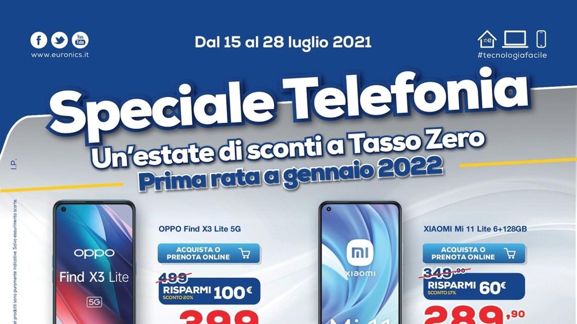 "Volantino Euronics ""Speciale Telefonia …"