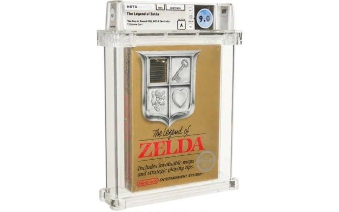Una copia super rara di The Legend of Zelda venduta per quasi un milione di dollari