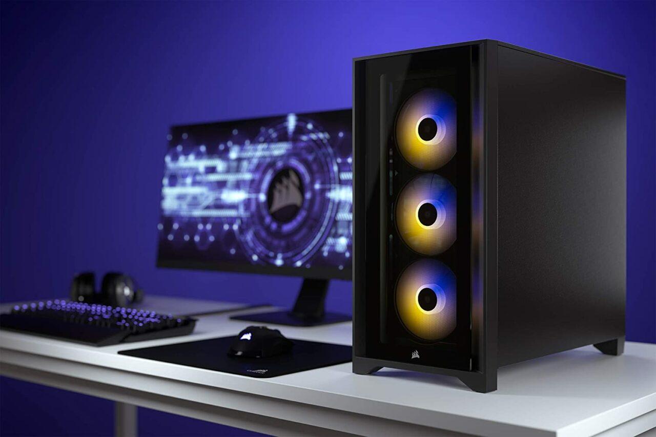 Case PC super funzionale in offerta su Amazon: Corsair iCUE 4000X è imperdibile!