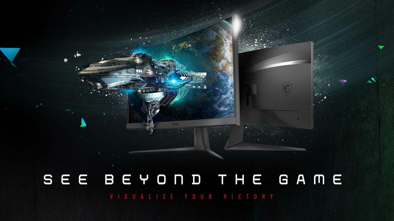 Sconto Amazon per MSI Optix G24C6: monitor gaming curvo da non perdere a soli 160€