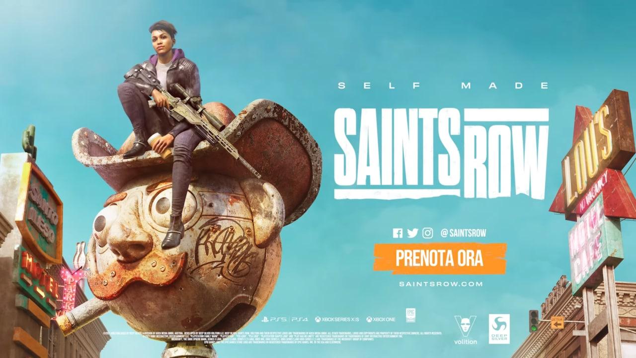 È stato annunciato il remake di Saints Row (video)