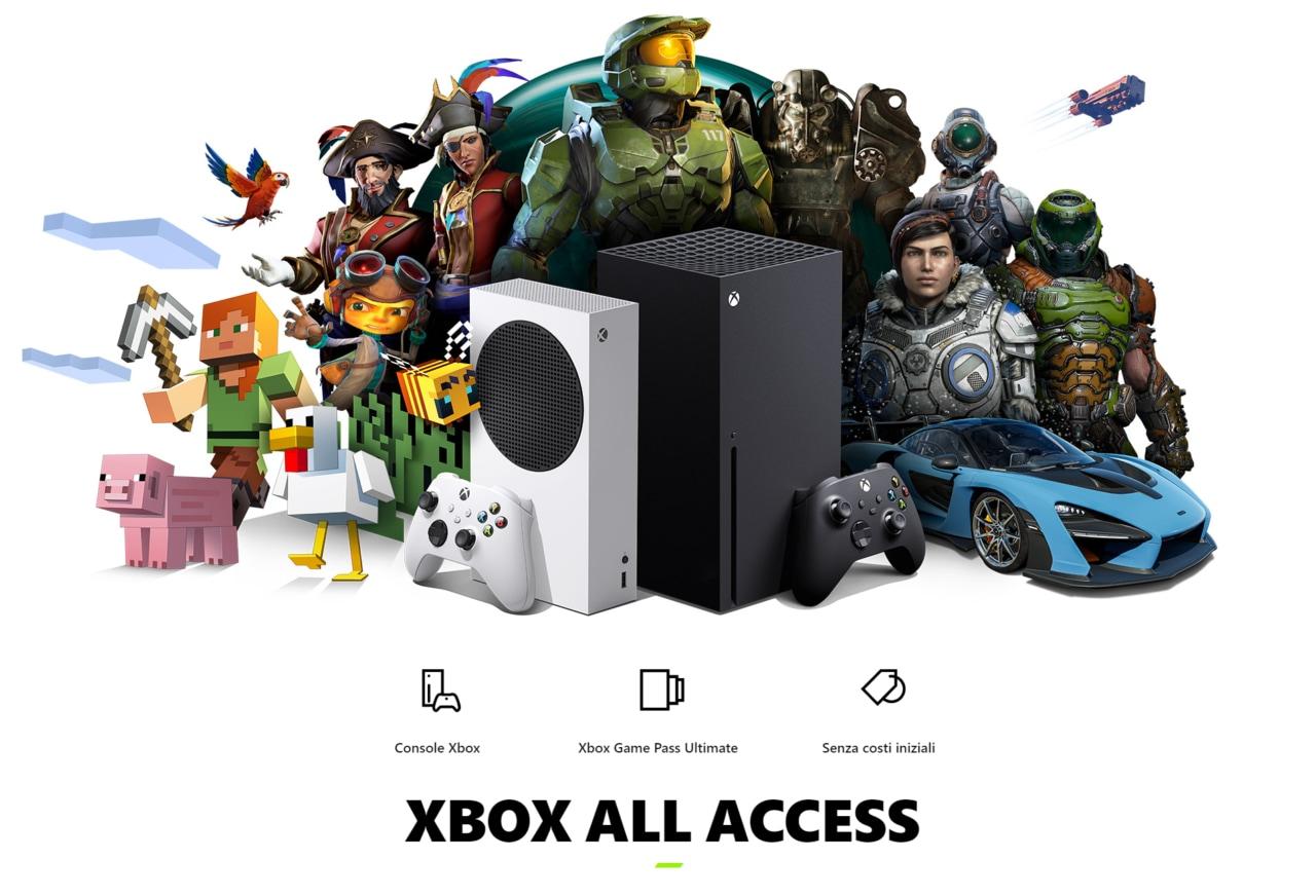 GameStop lancia Xbox All Access in Italia: all inclusive a partire da 24,99€ al mese