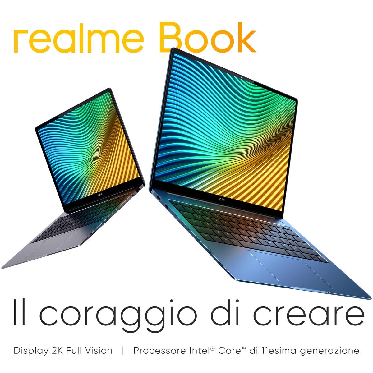 Realme Book ufficiale: presentato anche per l'Italia il primissimo laptop del brand
