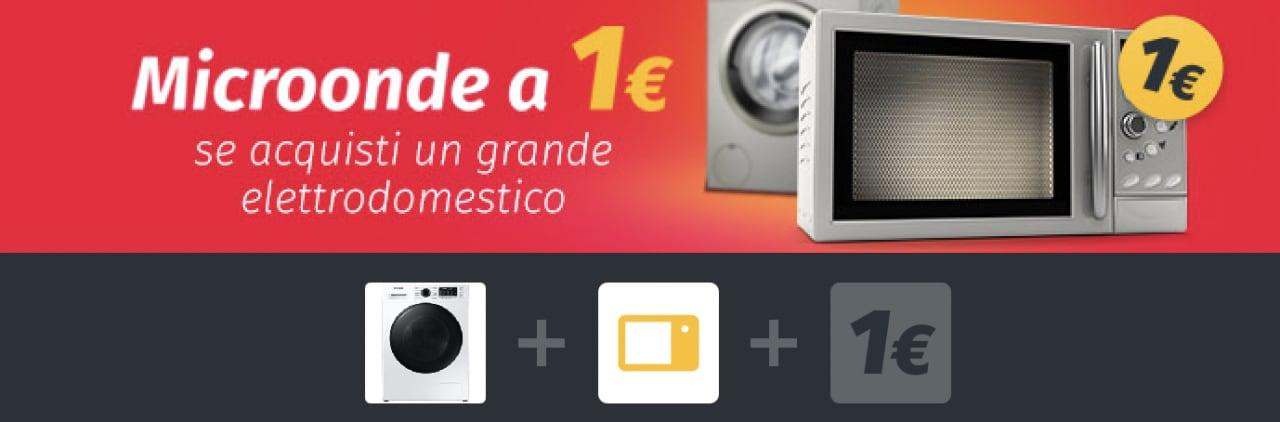 ePRICE: acquistando un grande elettrodomestico potrete comprare anche un microonde a 1€