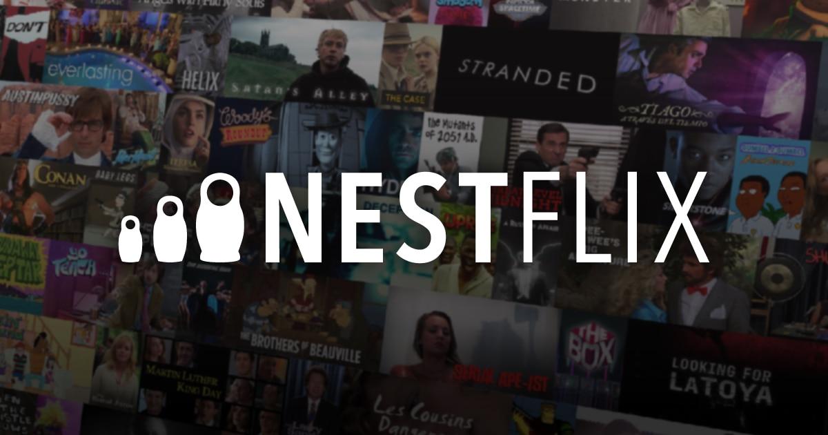 Nestflix è come Netflix, ma raccoglie film e show che non esistono