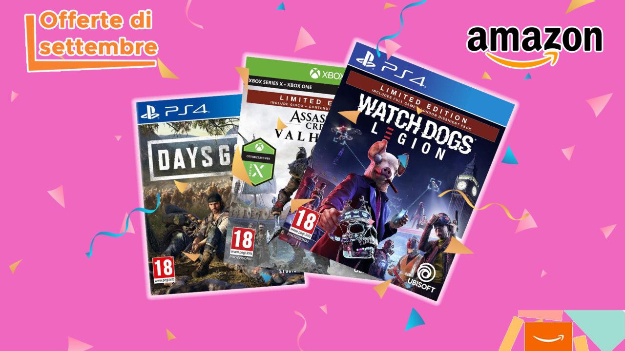I migliori videogiochi in sconto Amazon per le Offerte di Settembre