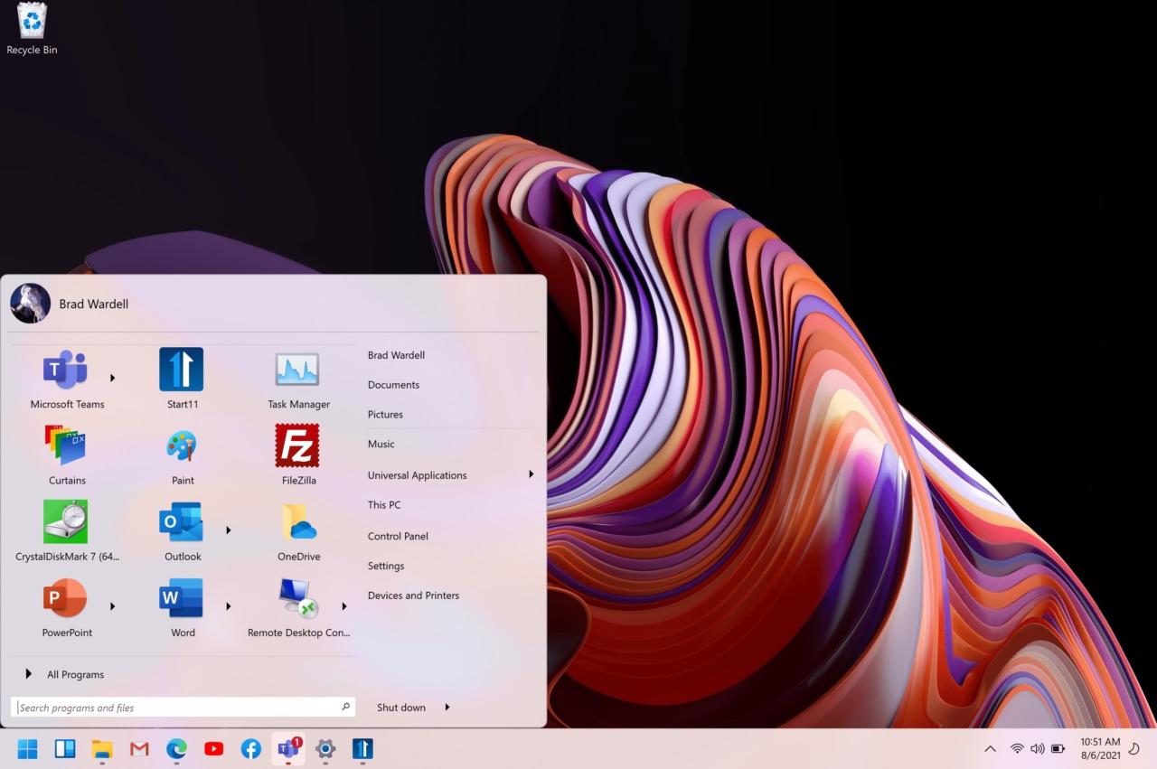 Non vi piace il menù Start di Windows 11? Con Start11 si potrà personalizzare completamente (foto)