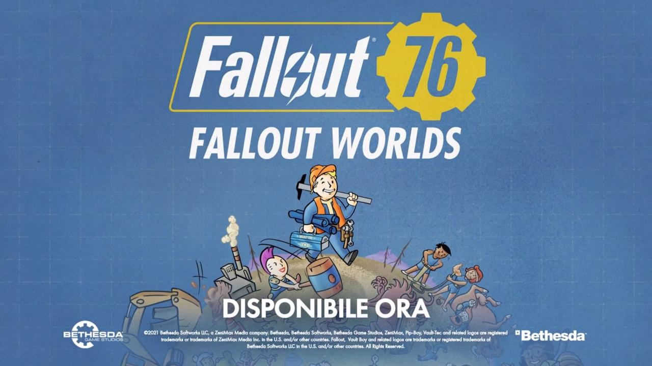Fallout Worlds disponibile da oggi: infinite possibilità per Fallout 76 (foto e video)