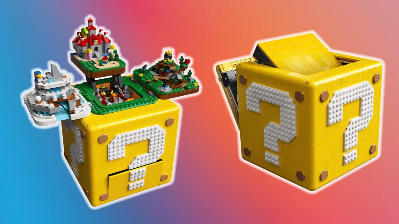 LEGO Blocco punto interrogativo Super Mario 64 è il prossimo set da collezione che vorrete (foto e video)