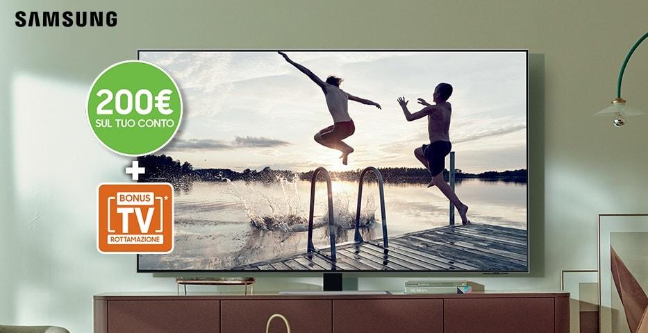 Promo Samsung: rimborso di 200€ per chi acquista una nuova TV Neo QLED