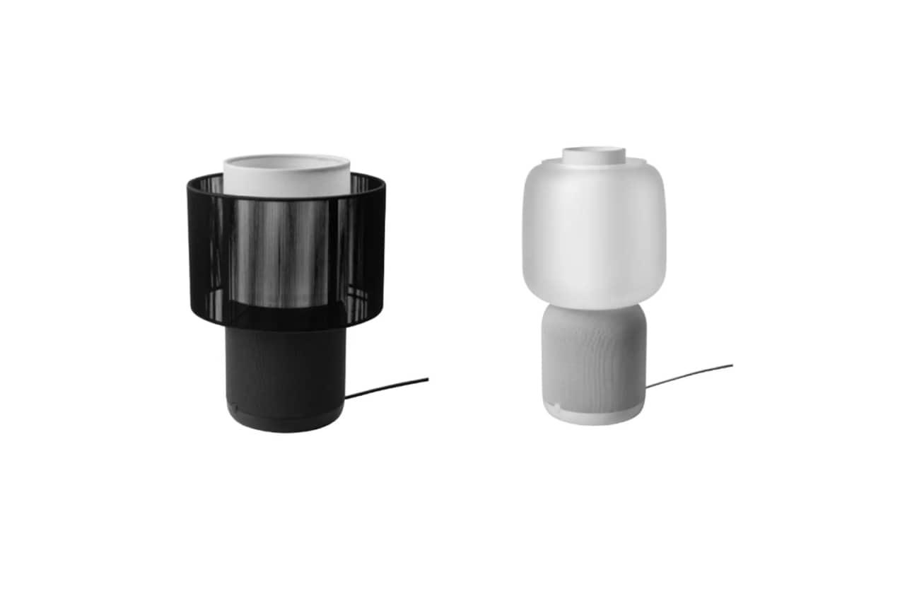 IKEA ha pensato a un nuovo design per le sue lampade-altoparlanti Symfonisk (foto)