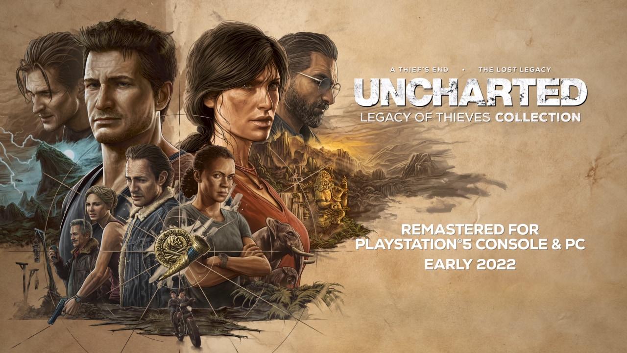 Le remaster di Uncharted 4 e Lost Legacy in arrivo su PS5 e PC Windows! (video)